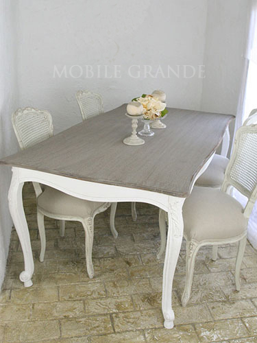 フランス家具 BLANC DIVOIRE ブランディボアール ダイニングテーブル 160x85