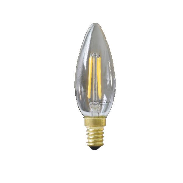 LED電球 LEDシャンデリア球 3.8W 400LM 04C-E12 2個セット