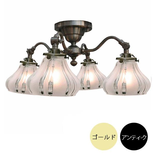 4灯シーリングライトセット シーリングランプ (60Wx4灯)※電球別売