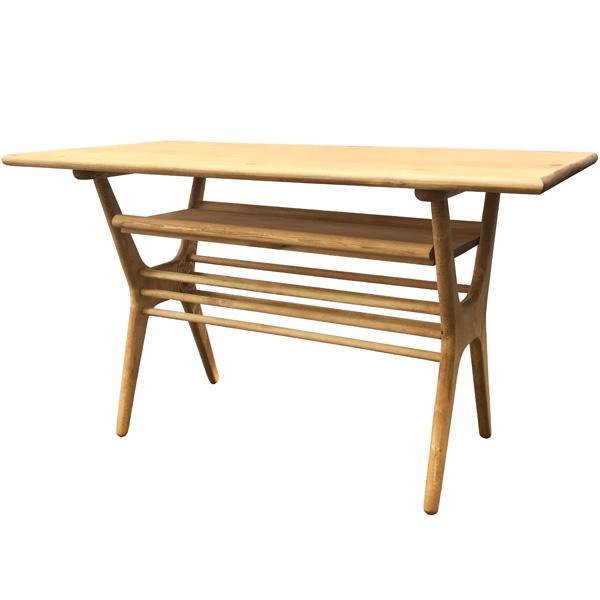 LOHASパイン家具 ダイニングテーブル1200 パイン色 テーブル単品
