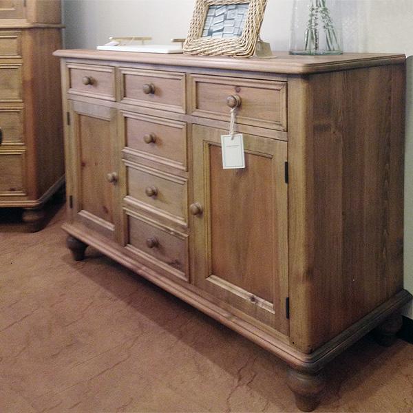 英国スタイルパイン家具 サイドボード1150 オイル塗装仕上げ