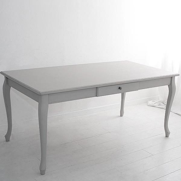オーダー家具 ラスティック ダイニングテーブル 猫脚 〜1700×〜900×730