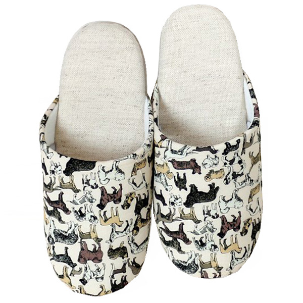 Liberty Slippers リバティプリント使用 スリッパ「Best in Show」IV色