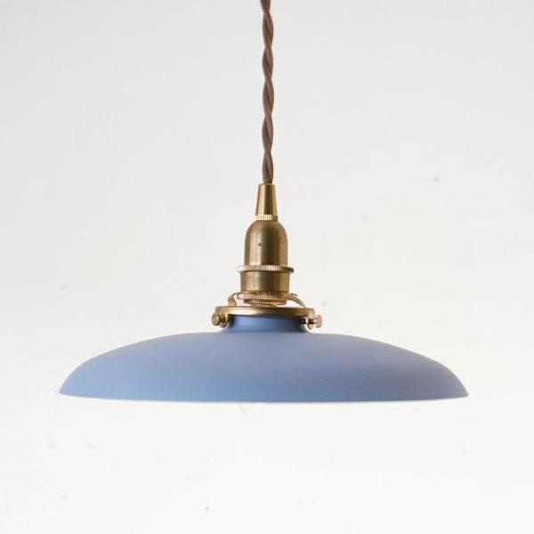 【シェード単体】アイアンシェード ペレット パウダーブルー 【推奨灯具:Aタイプ】