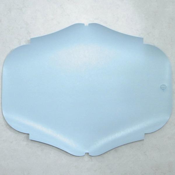 イタリア製ランチョンマット プレースマット ペールブルー色 2枚セット
