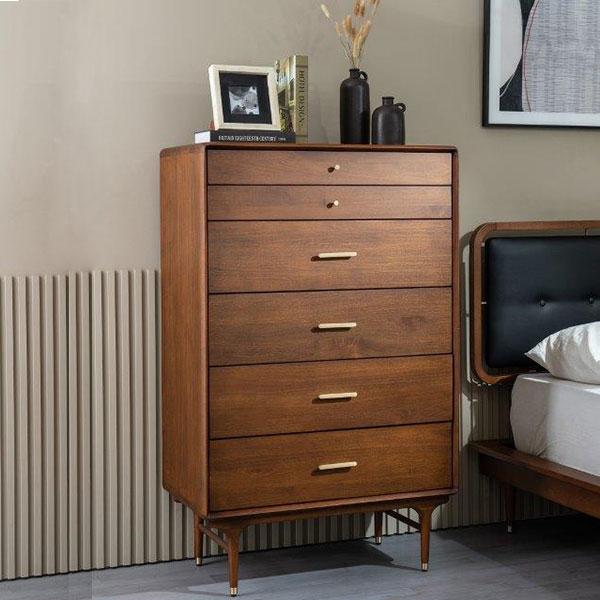 【開梱設置-m】北欧ヴィンテージ家具スタイル ハイチェスト 本州送料無料 Nordic Furniture style