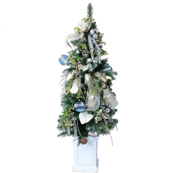 X'mas Tree クリスマスツリー デコレーション ブルー