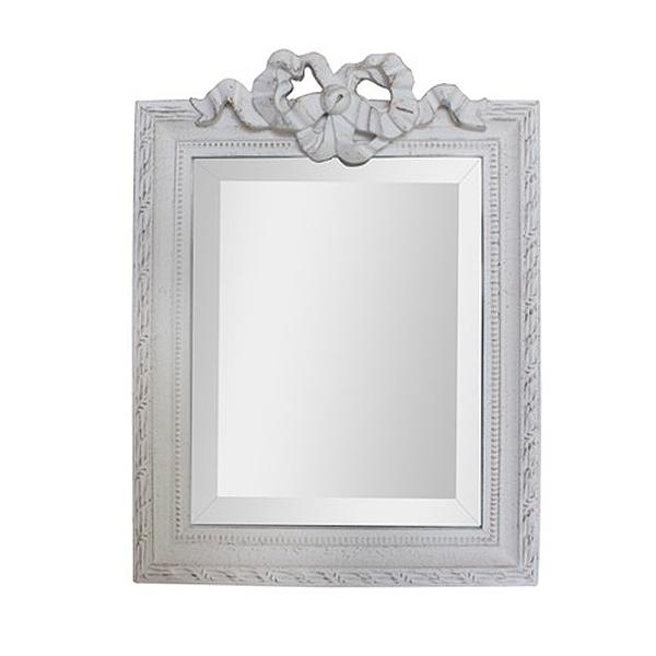 Blanc ブラン フリルミラー スクエアS stone gray色